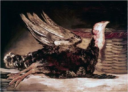 Francisco Goya, <em>Pavo Muerto,</em> 1812