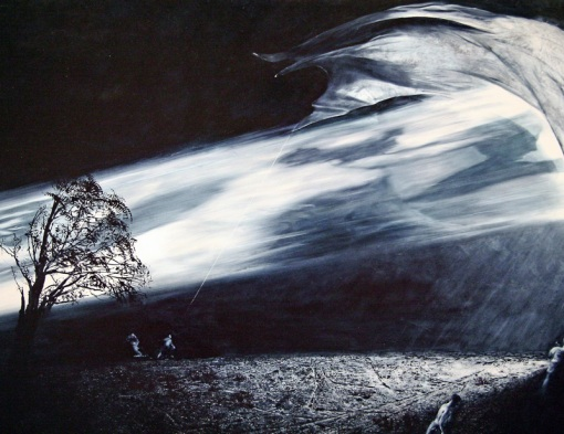 Mark Tansey, Interception (1996)